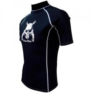 Barco Men'S KN0618 Neo Short Sleeve Rash Guard