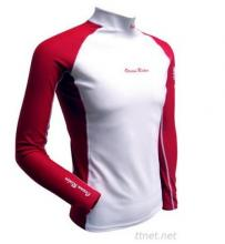 Barco Men'S KN0612 (PBT) Recycled Fabrics Long Sleeve Rash Guard